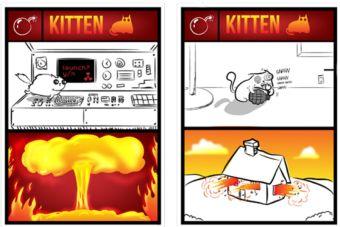 Exploding Kittens, el juego de cartas sobre gatos que podrías ayudar a financiar