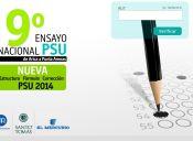 Abiertas las inscripciones para el 9° Ensayo Nacional PSU de la Universidad Santo Tomás
