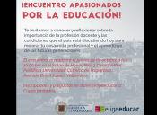 ¿Qué es el Encuentro para Estudiantes Apasionados por la Educación?