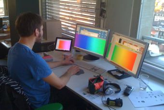 Puntaje de corte: Diseño gráfico
