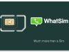 Whatsapp en todo el mundo con la misma tarjeta SIM con WhatSim