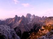Imágenes inspiradoras: Amanecer en los Dolomitas
