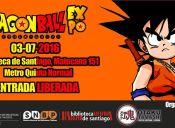 Dragon Ball Expo en Biblioteca de Santiago