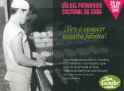 Día del Patrimonio de panadería y pastelería San Camilo.