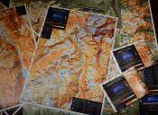 Andes Profundo: Mapas de Andinismo y Senderismo hechos en Chile