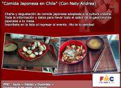 Comida Japonesa en Casa de la Cultura de lo Prado