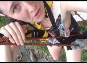 Turistas en Tailandia sufren accidente en canopy