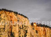 Incendio en Parque Nacional Zion, Utah,  genera una cascada de fuego