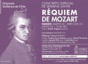 Concierto Especial de Semana Santa en el Teatro Universidad de Chile