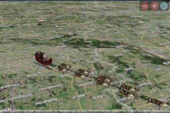 Sigue al Viejito Pascuero/Noel en su viaje por el mundo en Navidad