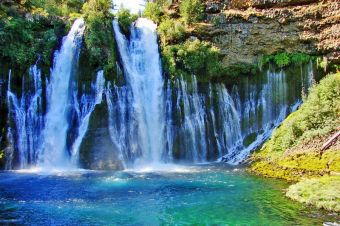 Imágenes inspiradoras: Burney Falls, California, Estados Unidos.