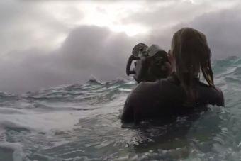Emerger de las minas para sumergirse en el mar