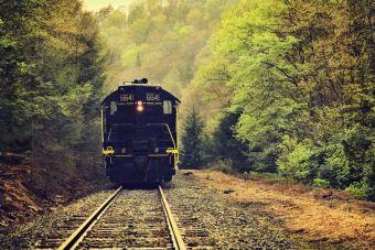 El encanto de viajar en tren