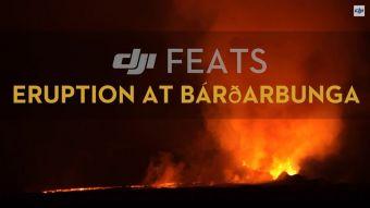 Drones capturas video de volcán Bardabunga en Islandia con sorprendentes resultados