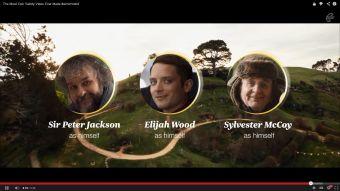 Videos: Air New Zealand y su épico video de seguridad inspirado en el Hobbit