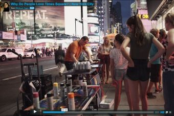 Video: ¿Por qué amamos Time Square?