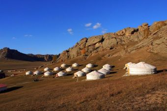 Imágenes inspiradoras: Parque Nacional Terelj, Mongolia