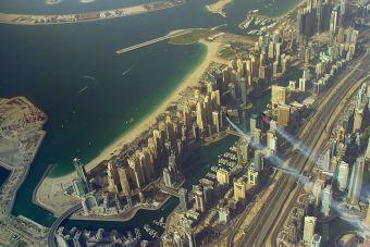 Sobrevolando Dubai en Jetpacks