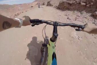Aventuras en bicicleta: Bajada Catarpe - San Pedro de Atacama, Chile