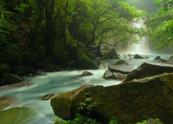 Imágenes inspiradoras: Cascadas Río Celeste, Costa Rica