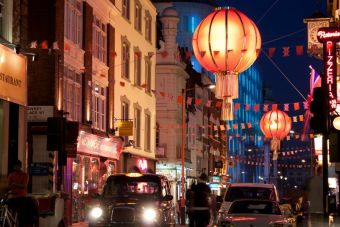 Momento de decir adiós a Chinatown en Londres