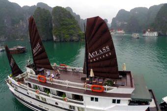 Mochileros por el Sudeste Asiático: Halong Bay, Vietnam