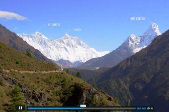 Imágenes inspiradoras: Los Himalayas desde lo alto (6,000 metros)