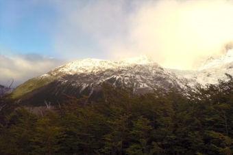 Invierno en Torres del Paine, trekking patagónico en tranquilidad