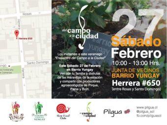 Encuentro del Campo a la Ciudad en Barrio Yungay 2016