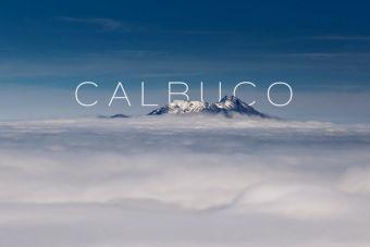 El volcán Calbuco en todo su esplendor