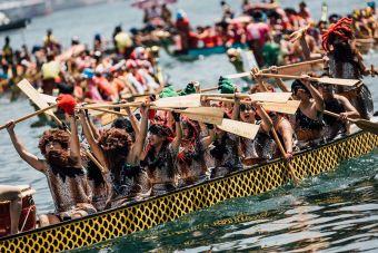 Imágenes inspiradoras: Carnaval de Botes de Dragón en Hong Kong