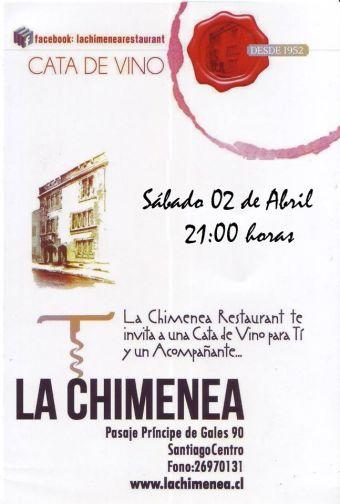 Cata de Vinos en La Chimenea