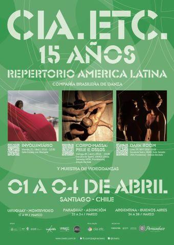 Danza Brasileña ETC en Escuela de Teatro Uniacc