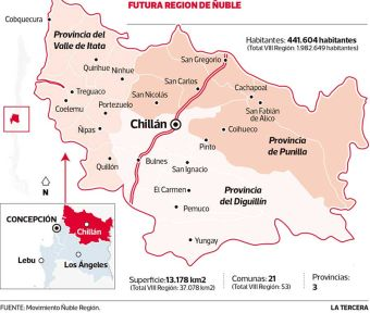 El sur de Chile tendrá una nueva región: El Ñuble