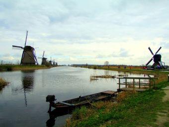 Imágenes inspiradoras: Los molinos de viento, Holanda