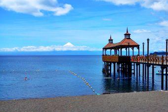 Recorriendo Chile: Muelle de Frutillar, Región de los Lagos.