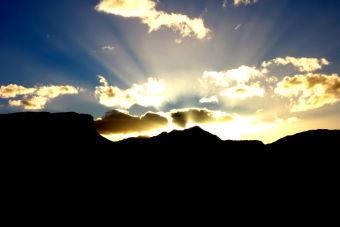 Imágenes inspiradoras: Divino atardecer en la Región de Aysén