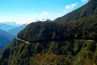 Mochileros por Sudamérica: La ruta de la muerte en bus, Bolivia