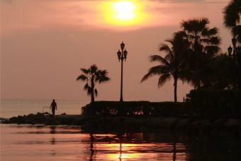 Imágenes inspiradoras: Atardecer de ensueño en Aruba