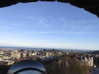Imágenes inspiradoras: Edimburgo desde lo alto