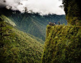 Mochileros por Bolivia: Ruta de la muerte en bicicleta