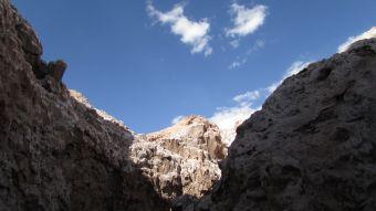 Valle de la luna, parajes de otro mundo