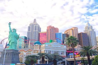 Mochileros por Norteamérica: Las Vegas