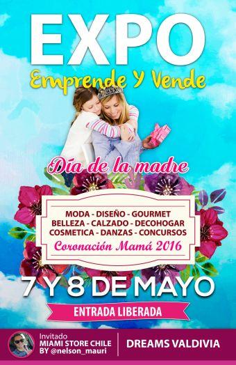 Expo Emprende y vende Valdivia Mamá 2016