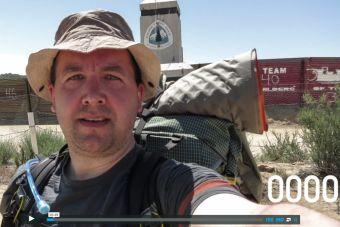 Cruzando el Pacific Crest Trail desde México a Canada en 2600 selfies