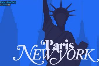 Paris vs New York un viaje comparativo en caricaturas