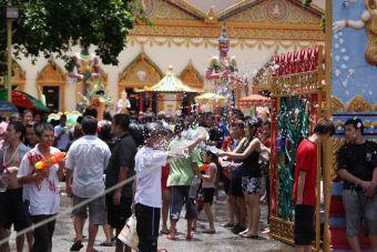 Mochileros por el Sudeste Asiático: Festival Songkran Tailandia