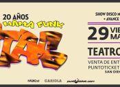 Los Tetas en vivo - 20 Años de Mama Funk, Teatro Cariola