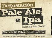 Degustación Pale Ale e Ipa
