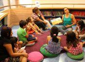 Cuentacuentos en Biblioteca Viva